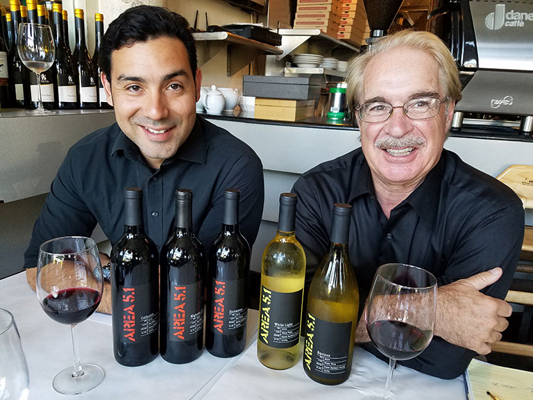 Hugo Oliva & Peter Kerr at Tivoli Cafe